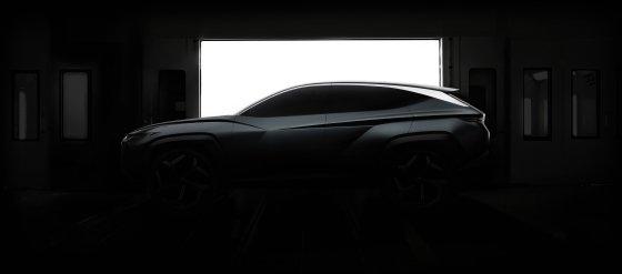 플러그인 하이브리드(PHEV) SUV 콘셉트카 티저 이미지/사진제공=현대차