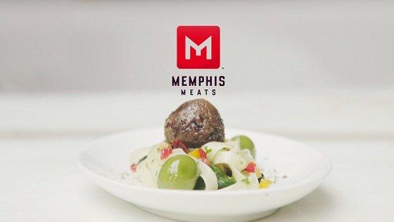 멤피스미트가 배양육(동물 줄기세포를 배양해 만든 고기)으로 만든 미트볼/사진=멤피스미트