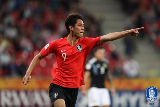 '오세훈 멀티골' 韓올림픽대표팀, 바레인 3-0 격파