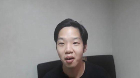 """'설리 남자친구입니다'라는 유튜브 영상을 올린 한 유튜버. 해당 영상에 대해 """"추모 영상일 뿐""""이라고 해명했다. / 사진 = 유튜브"""
