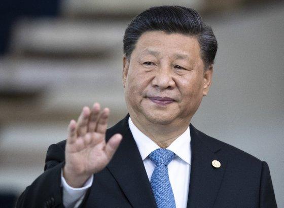 지난 14일(현지시간) 브라질에서 열린 신흥 경제 5개국 '브릭스' 정상회의에 참석한 시진핑 중국 국가주석. /사진=AFP