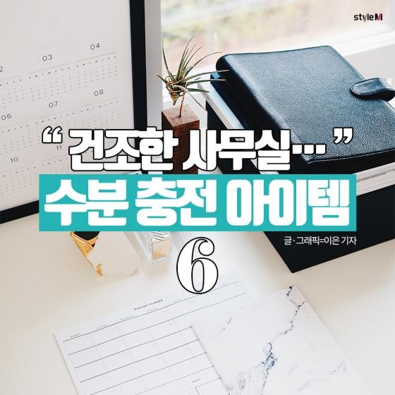 [카드뉴스] 건조한 사무실…수분 충전 아이템 6
