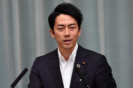 고이즈미 신지로 일본 환경상. /사진=AFP