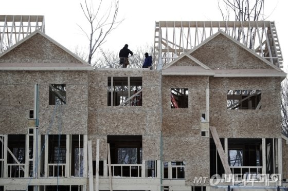 美 주택건설 껑충…건축허가 12년래 최대 - 머니투데이 뉴스