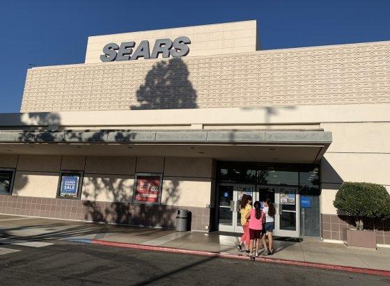 지난해 10월 125년 역사를 지닌 미국 백화점 체인 시어스(Sears)가 파산보호를 신청했다. /사진=AFP