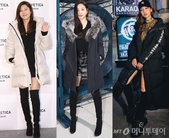 배우 김하늘, 김사랑, 김희정 /사진제공=듀베티카, 맥케이지, 엠엘비