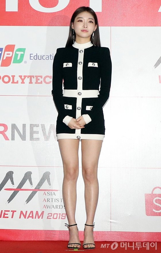가수 청하/사진=이기범 기자