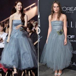 'AAA' 윤아, 800만원대 드레스…