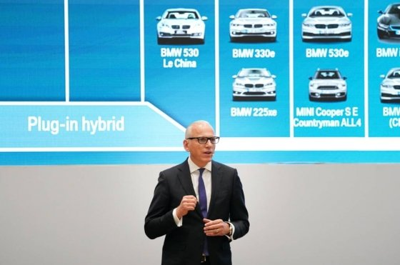 피터 노타 BMW 브랜드 및 세일즈, 애프터세일즈 총괄 보드멤버. /사진제공=BMW