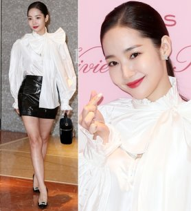 박민영, 화사한 리본 스타일링…눈부신 매력 '깜짝'