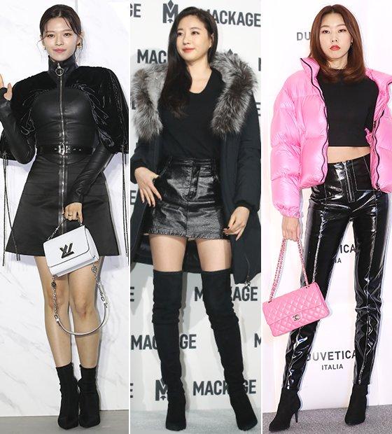 그룹 트와이스 정연, 배우 김사랑, 모델 한혜진/사진=뉴스1