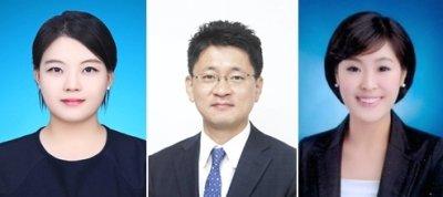 하나금융투자 김아영·이정기·안주원 연구원(왼쪽부터 순서대로). /사진제공=하나금융투자