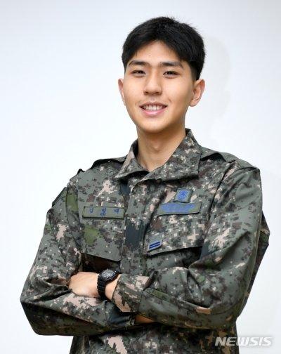 공군 제3방공유도탄여단 김형태 일병. (공군 제공)/사진=뉴시스