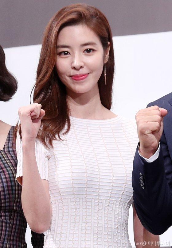 배우 김규리/사진=김휘선 기자