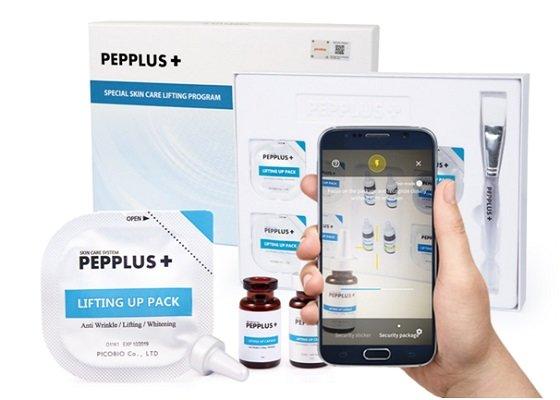 정품 인증 솔루션 ICS가 적용된 'PEPPLUS+'(펩플러스)/사진제공=대원씨앤씨