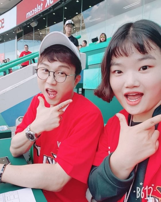 박성광과 매니저 임송./사진=박성광 인스타그램