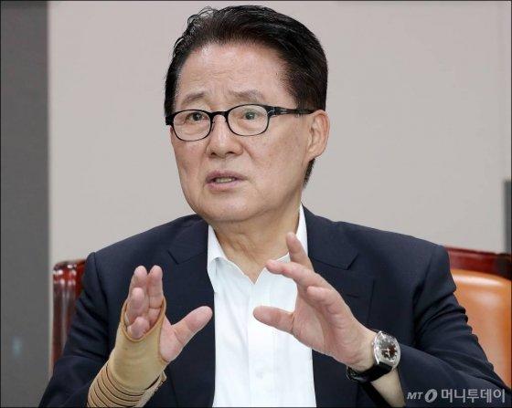 박지원 대안신당 의원/ 사진=김창현 기자 chmt@