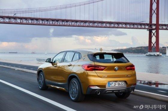 BMW '뉴 X2 xDrive18d M 스포츠'. /사진제공=BMW코리아