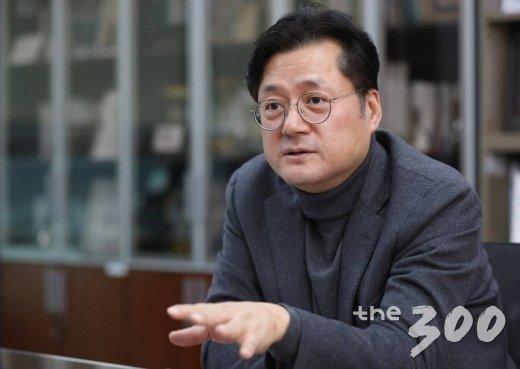 홍익표 더불어민주당 의원. / 사진=이동훈 기자 photoguy@