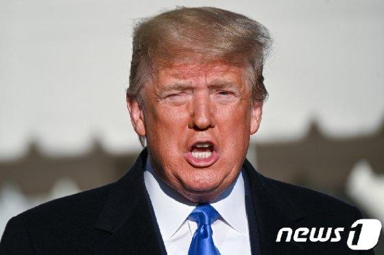 도널드 트럼프 미국 대통령 © 로이터=뉴스1