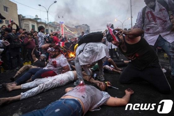 이라크 反정부 시위대에 무차별 총격…