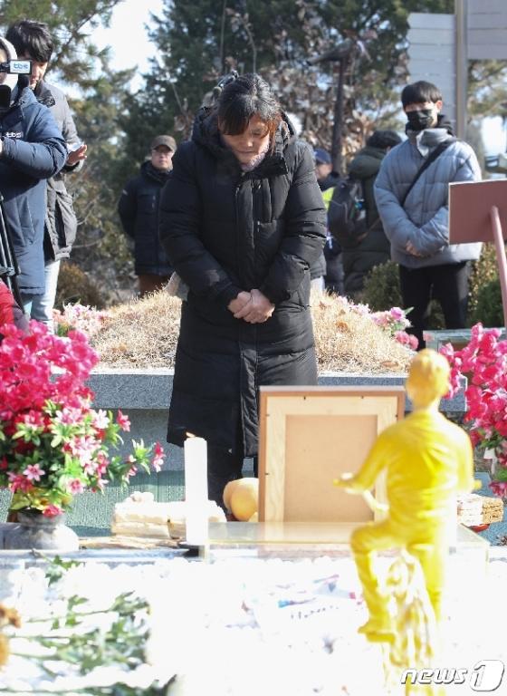 [사진] 어머니의 눈물