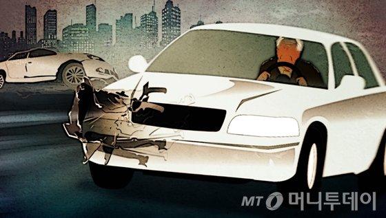 日서 '또' 고령 운전 사고 발생… 82세 운전자, 12중 추돌
