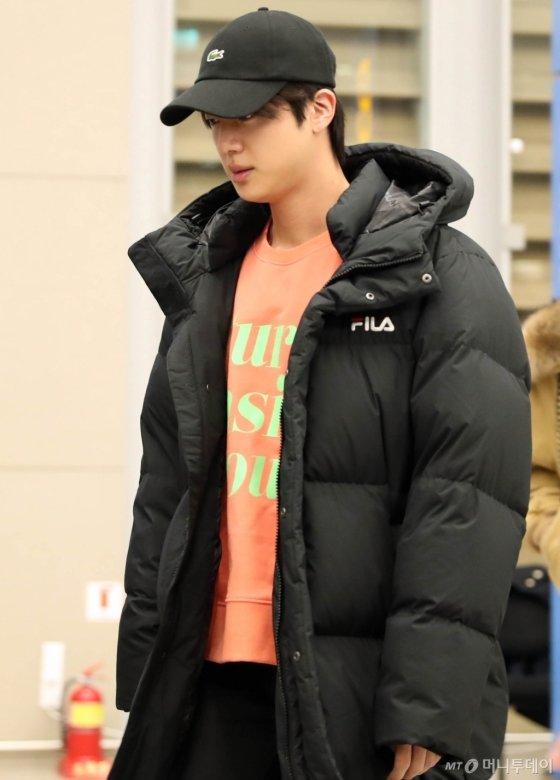 [사진]방탄소년단 '피곤한 입국'