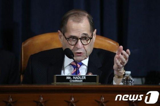 제럴드 내들러 미국 하원 법사위원장. © AFP=뉴스1
