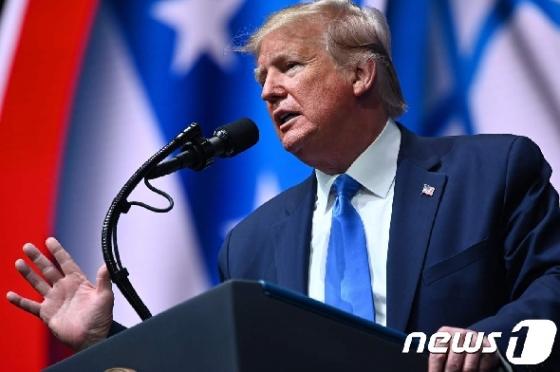 """[사진] 트럼프 """"내가 이스라엘의 가장 좋은 친구"""""""