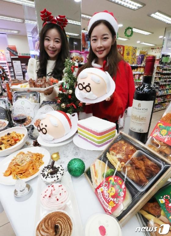 [사진] 세븐일레븐 '크리스마스 홈파티 상품 판매'