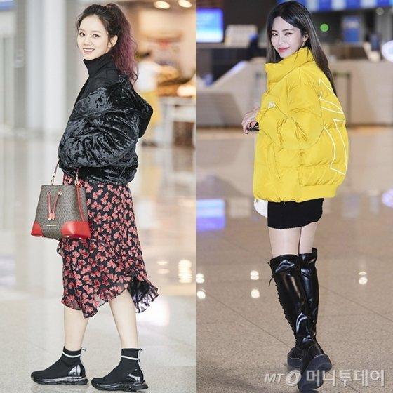 가수 혜리, 헤이즈 /사진제공=마이클코어스, 엠엘비