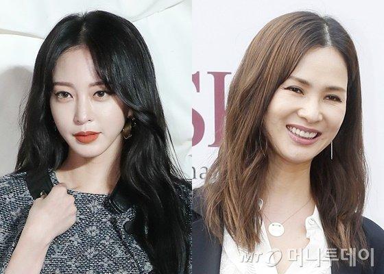 배우 한예슬(왼쪽)과 모델 이소라/사진=머니투데이DB
