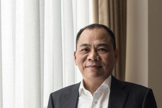 베트남 최대 기업 빈그룹을 이끄는 팜녓브엉 회장. /사진=블룸버그