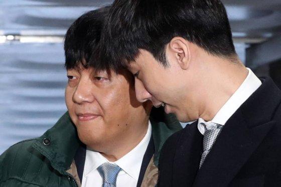 이재웅 쏘카 대표(왼쪽)와 박재욱 VCNC 대표. /사진=이기범 기자.