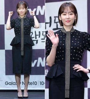 '블랙독' 서현진, 화려한 트임 패션…포즈는 '상큼'