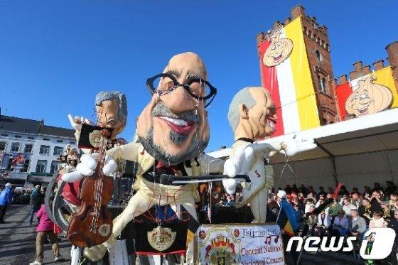 벨기에 알스트 축제. <자료사진> © AFP=뉴스1
