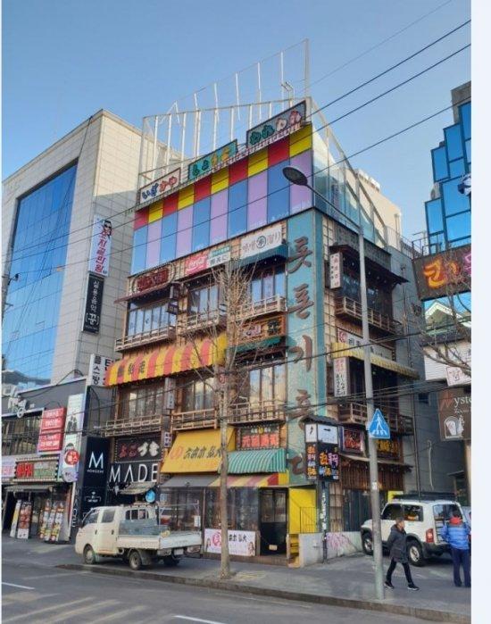 서장훈씨가 매입한 홍대 건물 /사진제공=원빌딩