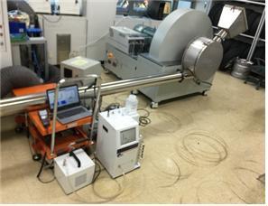 한국기계연구원 그린동력연구실 이석환 책임연구원 연구팀이 개발한 타이어 마모 발생 미세먼지 측정을 위한 시뮬레이터/사진=기계연