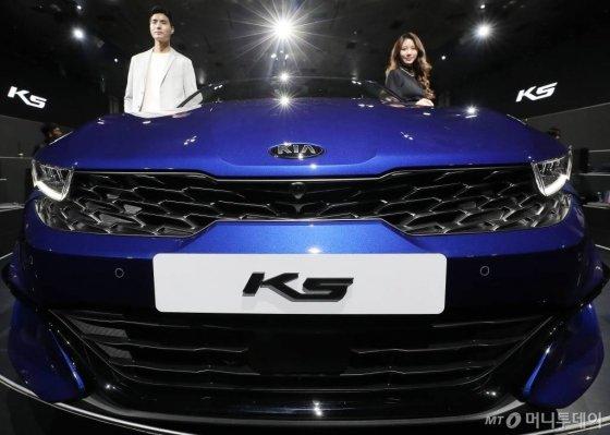 기이자동차 3세대 'K5' /사진=김창현 기자