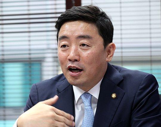 강훈식 더불어민주당 의원 /사진=홍봉진기자 honggga@