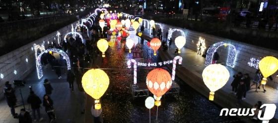 [사진] 2019 서울크리스마스 페스티벌 인파