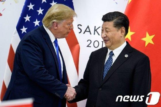 미중 정상. © AFP=뉴스1