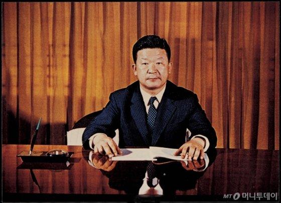 1970년 1월, 취임 당시의 구자경 명예회장 /사진제공=LG