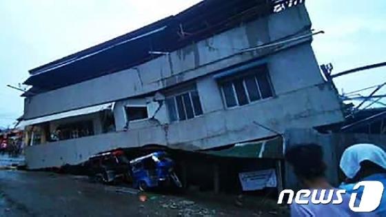 필리핀 민다나오섬에 또 강진…