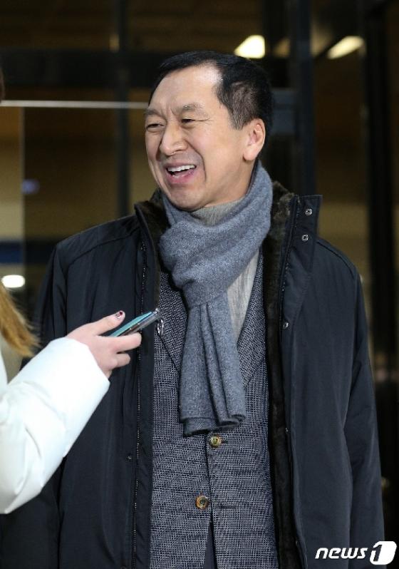[사진] 미소짓는 김기현 전 울산시장
