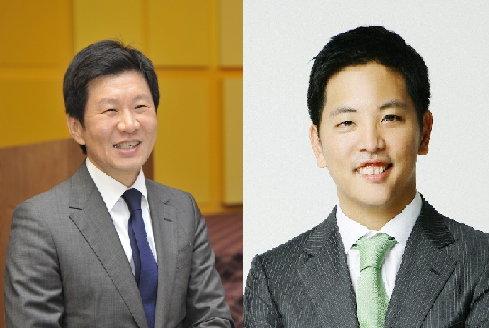 정몽규 HDC그룹 회장(왼쪽)과 박세창 아시아나IDT 사장./사진=머니투데이 DB