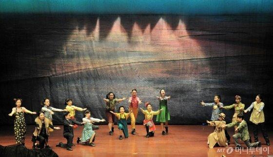 갯벌수호대(성남시청 온누리홀)-2016년 2월 공연/사진제공=날으는자동차
