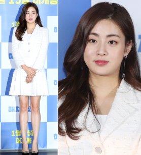 '해치지 않아' 강소라, 화사한 슈트 패션…피부 '촉촉'
