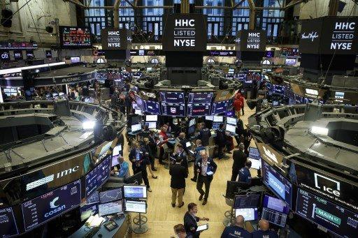 NYSE의 플로어 전경/사진=AFP